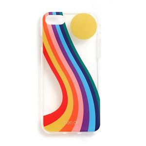 ban.do Boogie Daze iPhone 7 Case, Rainbow, iPhone